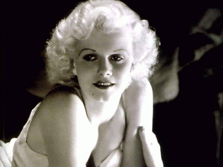 Jean Harlow-Celebs Who Had Abortion