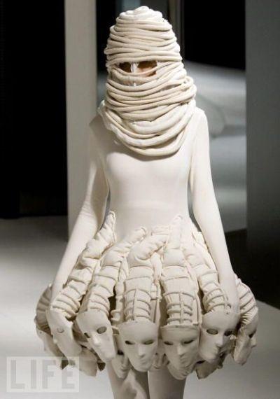 Just bizarre-Most Insane Dresses Ever