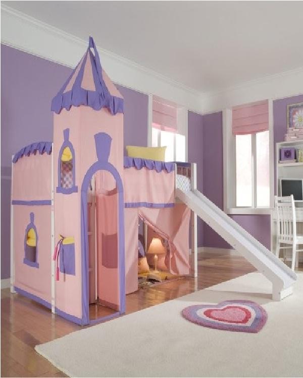 Princess castle-Weird Bedroom Furniture