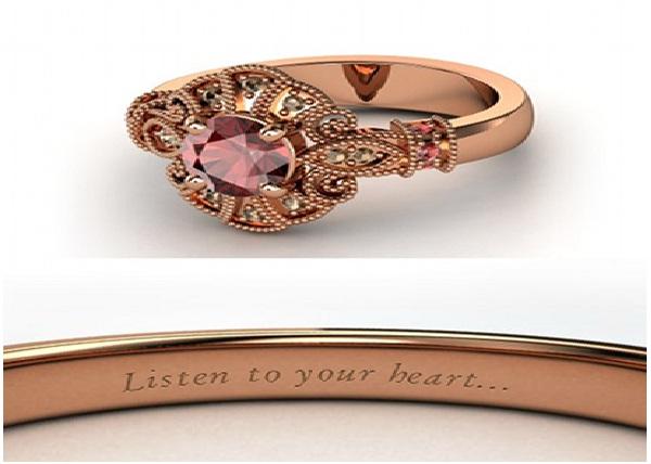 Pocahontas Engagement Ring-Disney Engagement Rings