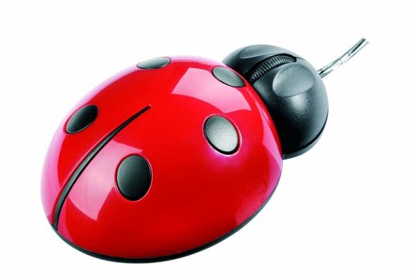 Ladybug Mouse-Amazing Computer Mice