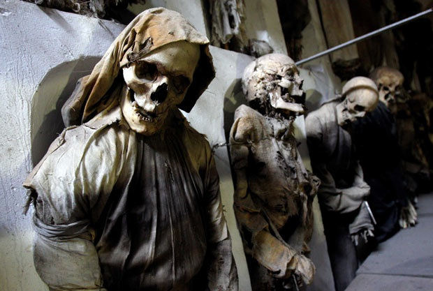 The Catacombs of the Capuchins-World's Most Frightening Museums
