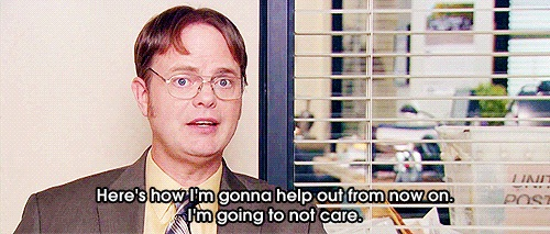 He showed how to help others-Dwight K Schrute Is A Life Coach