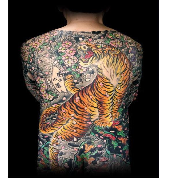 Tiger 2-Full Body Tattoos