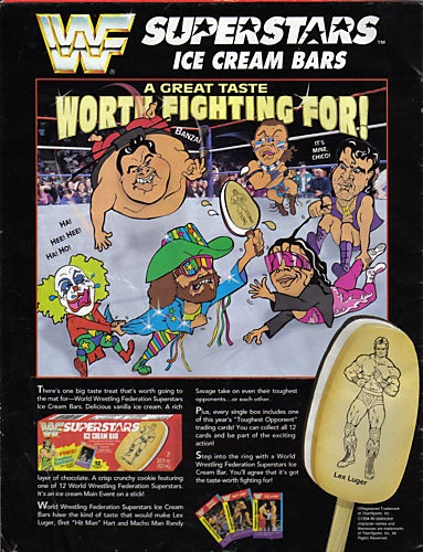 WWF Ice Cream Bars-Foods And Beverages Which Only 90s Kids Will Remember