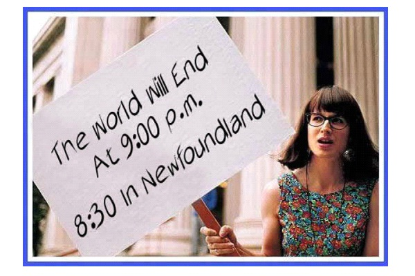 Specific End-Hilarious End Of The World Signs