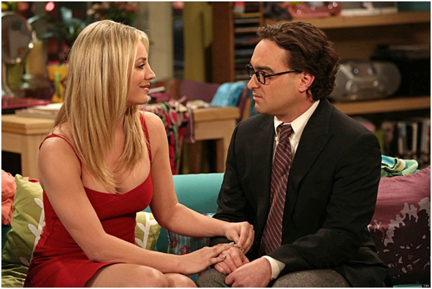 Penny Loves Leonard Scene-15 Things You Didn't Know About The Big Bang Theory