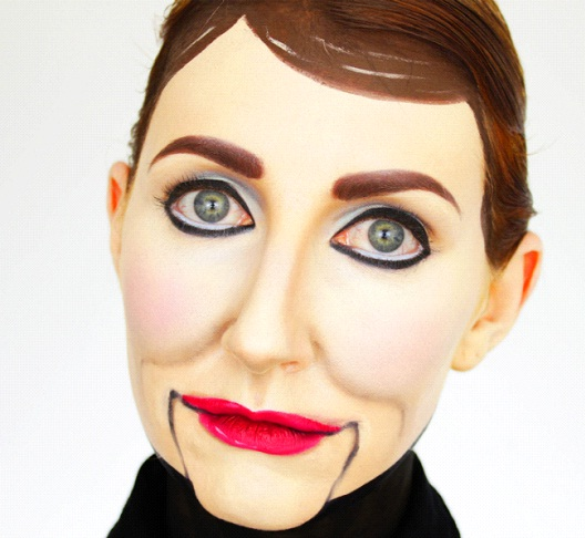 Ventriloquist Dummy-Amazing Wooden Doll Makeup