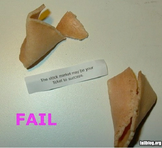 Play The Stock Market-Hilarious Fortune Cookies