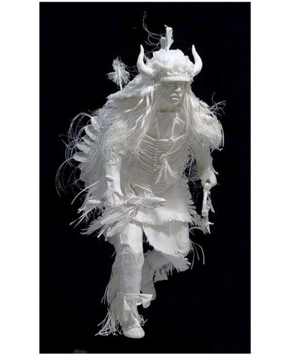 Chief Big Horns-Most Amazing Paper Sculptures