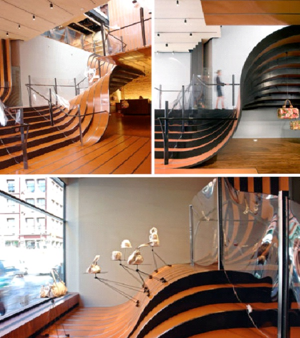 Longchamp Store - New York-Amazing Staircases In The World