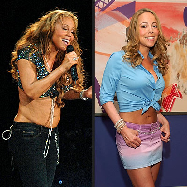 Mariah Carey-Celebs Who Lost Weight