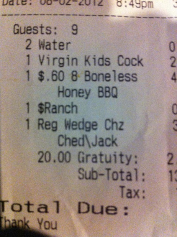Tell Toys-R-Us-Funniest Receipts Of All Time