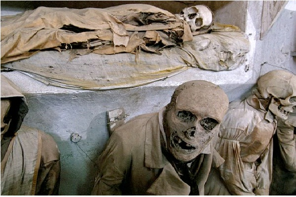 Capuchin Catacombs - Sicily, Italy-Unusual And Unbelievable Underground Places