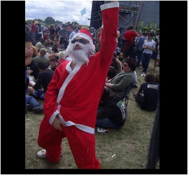 Party Animal Santa Claus-Hilarious Santa Claus Fails