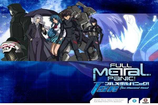 Full Metal Panic-Popular Anime Series