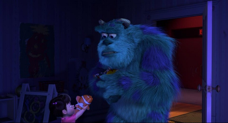 Nemo is in Monsters Inc-Mind Blowing Facts About Pixar That You Probably Didn't Know