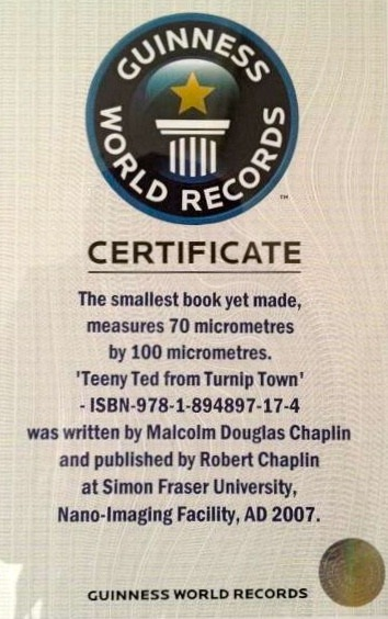 Teeny Ted from Turnip Town-Unusual Facts About Famous Books And Authors