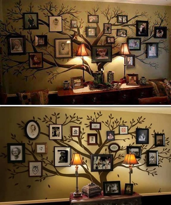Family tree-Creative DIY Wall Decor