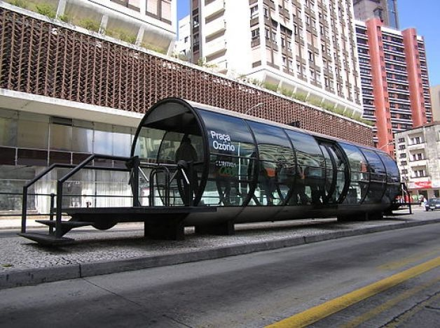 The tube-Cool Bus Stops Around The World