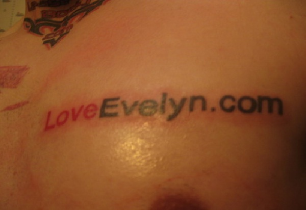 Just words-Disgusting Advertisement Tattoos