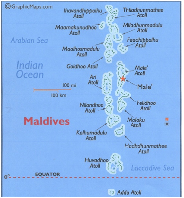 Maldives-Countries With The Lowest Income Taxes