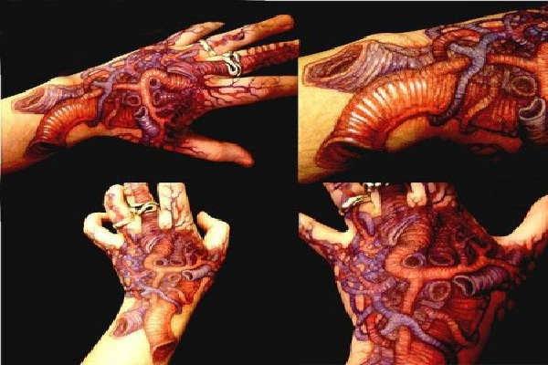 More Hands-Wackiest Anatomical Tattoos