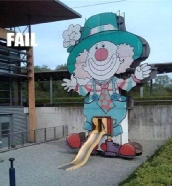 Well Endowed Clown-Most Inappropriate Playgrounds
