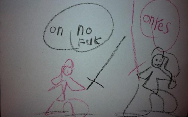 Bad language-12 Most Disturbing Drawings By Kids