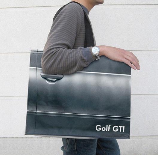 Volkswagen Golf GTI-24 Most Creative Bag Ads