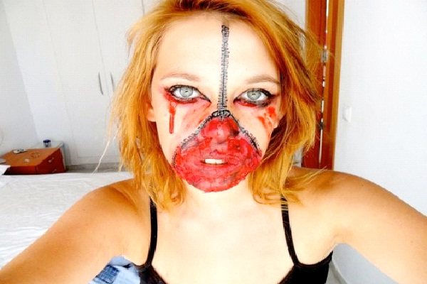 Zipper Face-Most Incredible Face Paintings