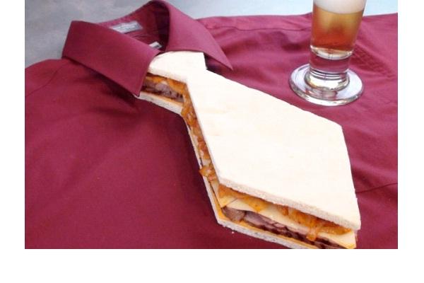 Sandwich Tie-Strangest Ties