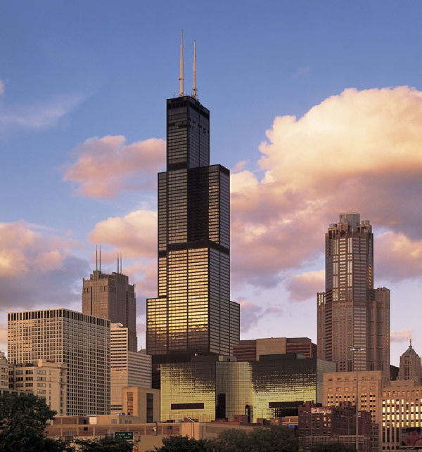 Willis tower-Tallest Buildings In The World