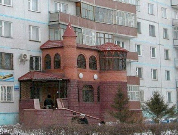 House On The Side Of A Building-Worst Construction Fails