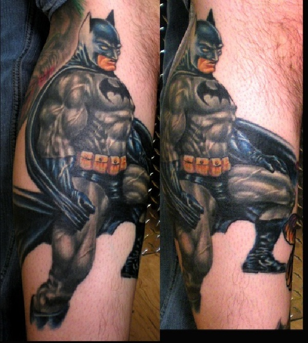 Batman Model-Batman 3D Tattoos