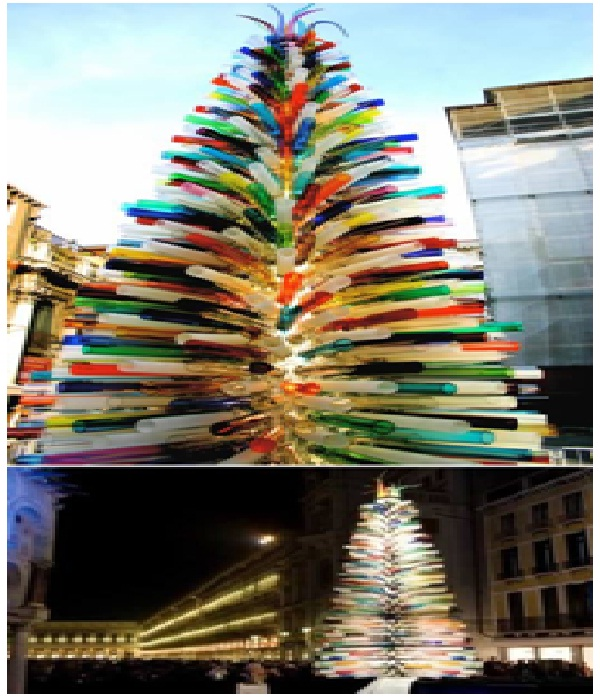 Largest Murano Glass Christmas Tree-Most Amazing Christmas Trees From Around The Globe