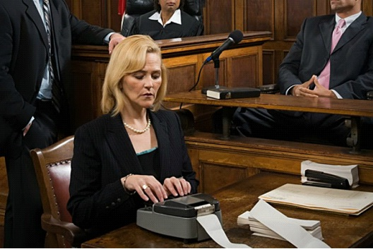Court Reporter-Good Paying Jobs That Don't Require A College Degree