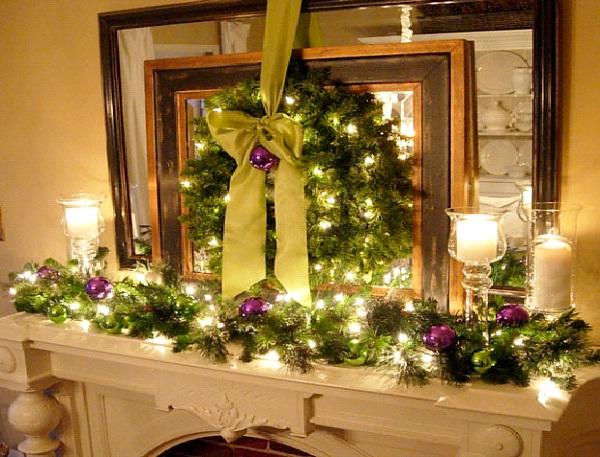 White Lights-Christmas Decoration Ideas