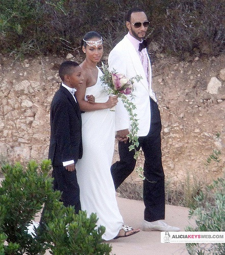 Alicia Keys-Celebrities Who Married Secretly