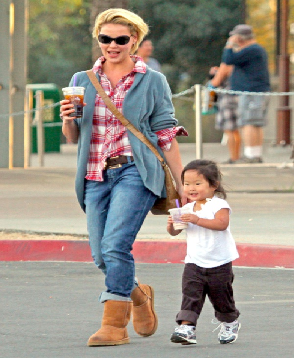 Katherine Heigl-Celebrities Who Have Adopted Babies