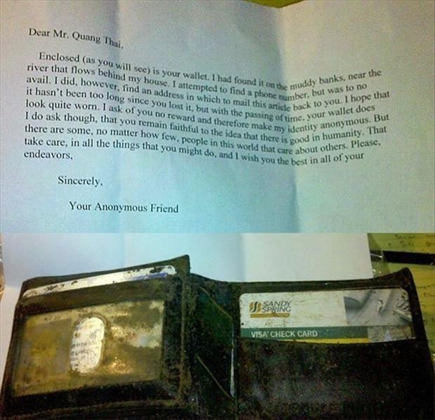 The Muddy Wallet-Pictures That Will Restore Your Faith In Humanity