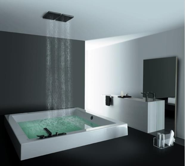The bath combo-Amazing Showers