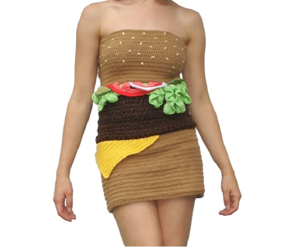 Cheeseburger Dress-Weirdest Dresses