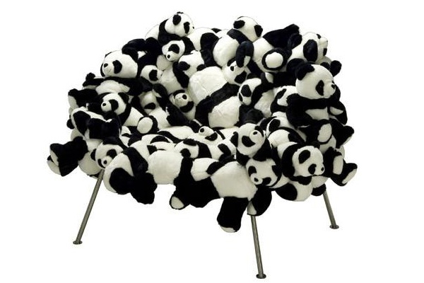 For The Love Of Pandas-World's Strangest Furniture