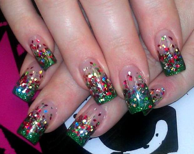 Festive-Most Creative Nail Art