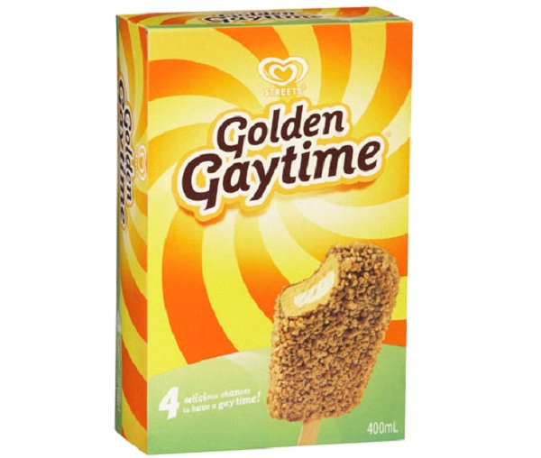 Golden Gaytime Ice Cream-Most Inappropriate Product Names
