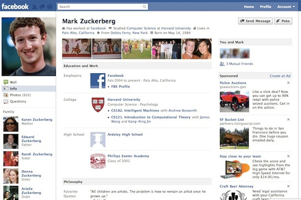 Photo Banner-12 Pictures That Show Facebook Design Changes Over The Years