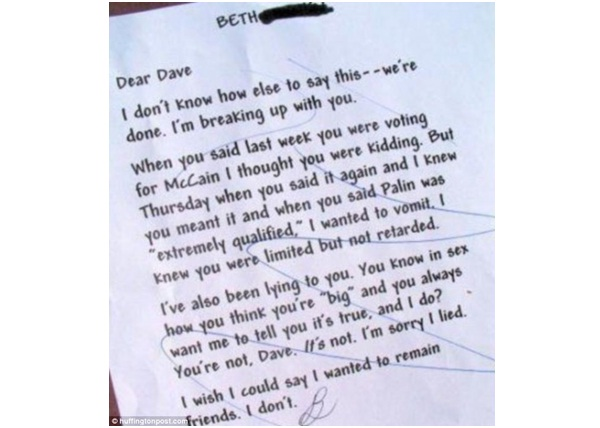 Break-up Apology and Manhood Slamming-12 Hilarious Apology Notes Ever