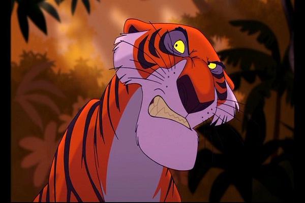 Shere Khan-Best Disney Villains