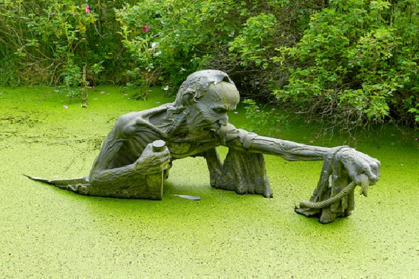 Victoria's Way Indian Sculpture Park-Bizarre Statues Created From Your Nightmares